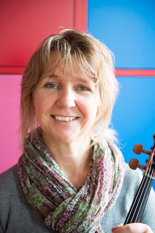 Gosia Stolte docent viool