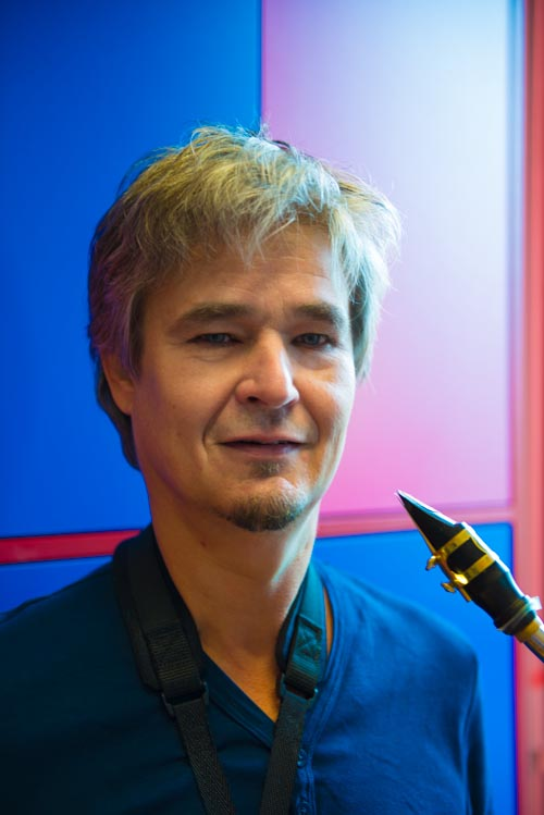 docent saxofoon Mark Lenselink