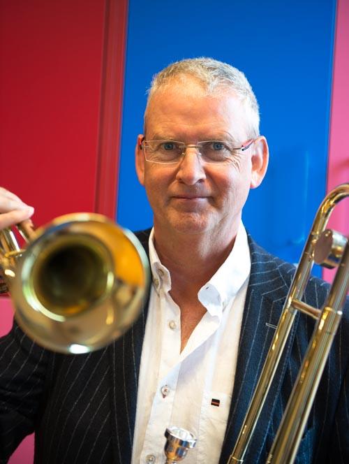 docent trompet, hoorn, trombone, euphonium Willem Stoops
