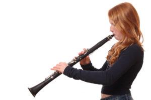 Meisje met klarinet