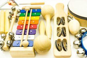 instrumenten Kinderen Ontdekken Muziek