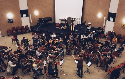 Barnevelds Jeugdorkest en Barnevelds Kamerorkest spelen samen